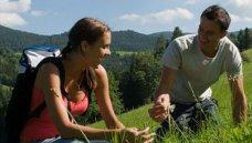 Oostenrijk, Steiermark - koppel in bergen