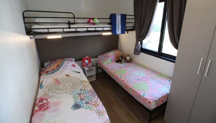 Gustocamp Lounge Deluxe XL - kinderslaapkamer