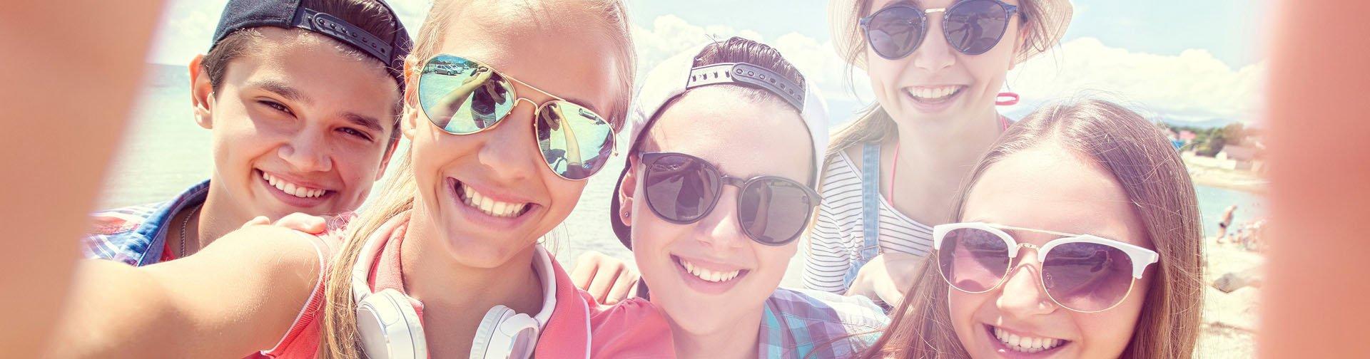 Op vakantie met tieners